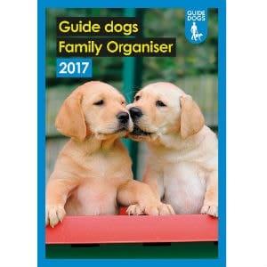 Guide Dogs Family Organsier Calendar 2017