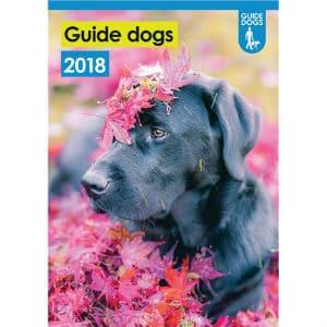 Guide Dogs A3 Wall Calendar 2018