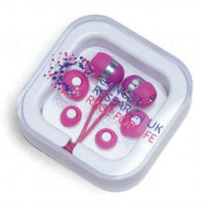 CRUK earphones