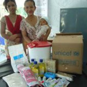 unicef water & hygiene kit