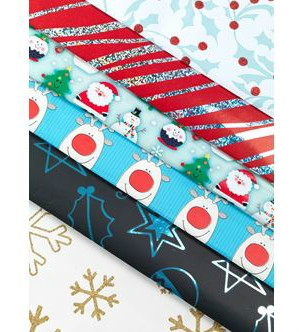 unicef wrapping paper