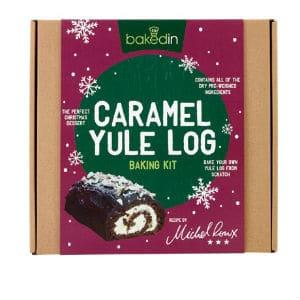Caramel Yule Log Baking Kit