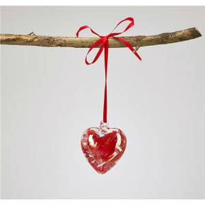 Red Heart Friendship Bauble