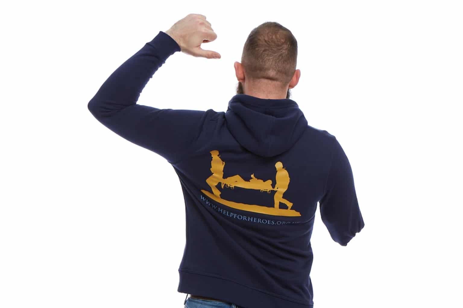 Navy Ardley Pullover Hoody