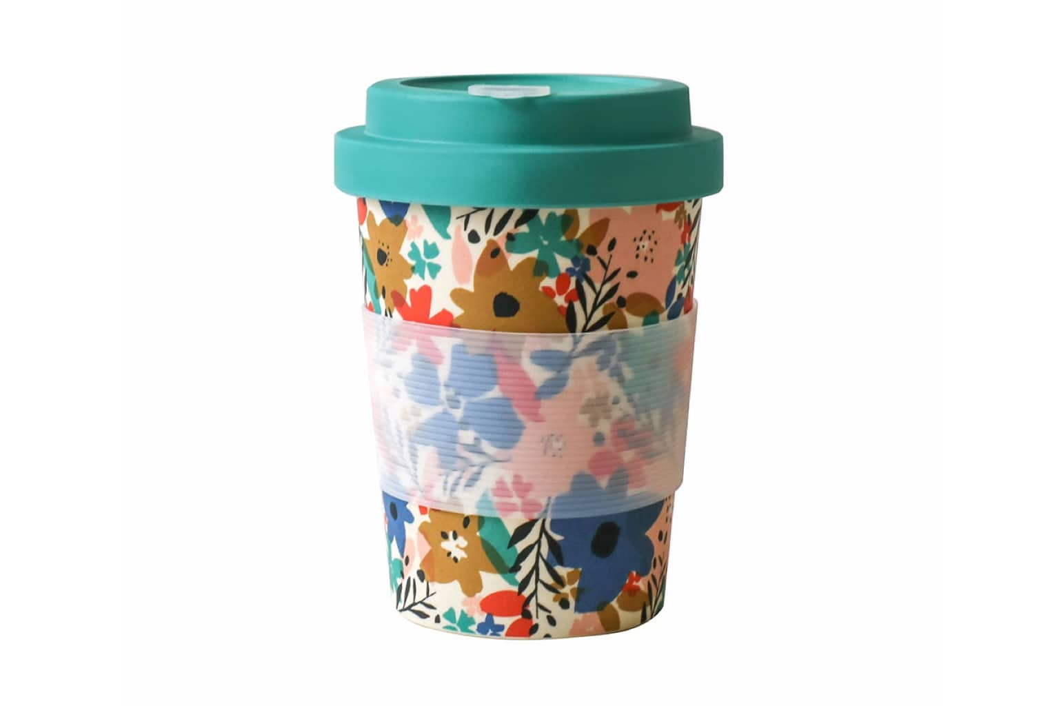 Reusable Bamboo Travel Coffee Cup