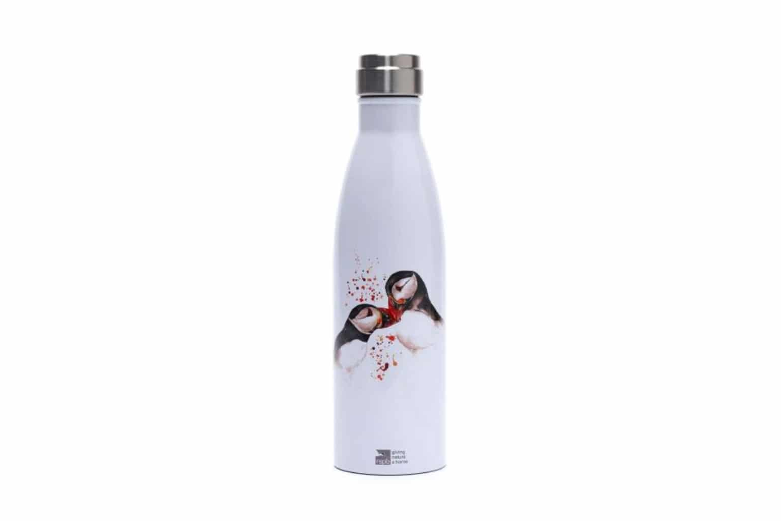 Reusable Bottle, Puffins