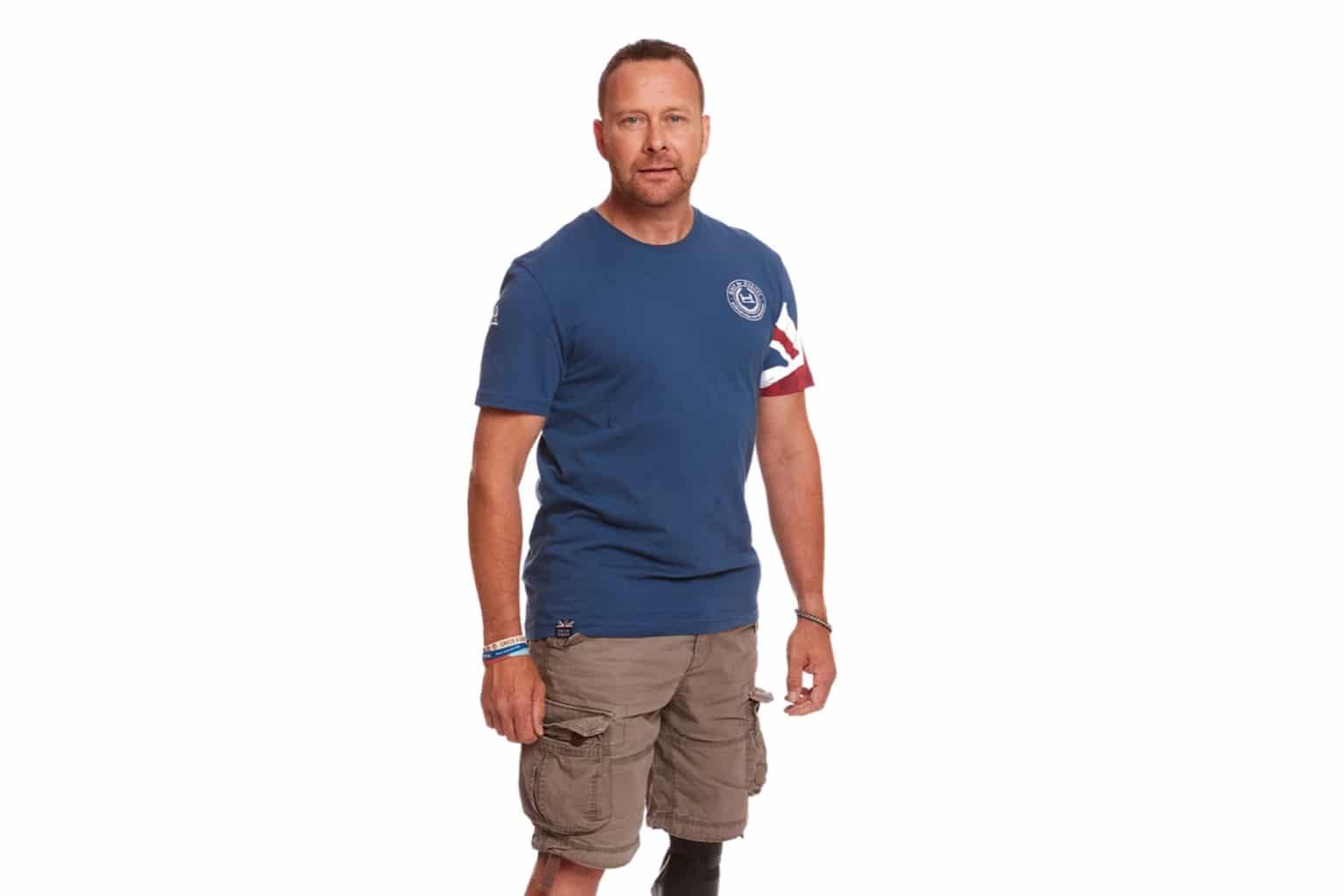 Ensign Blue Union Jack Sleeve T-shirt