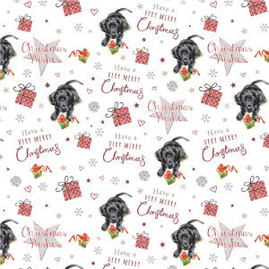 Cute Christmas Pup Wrap