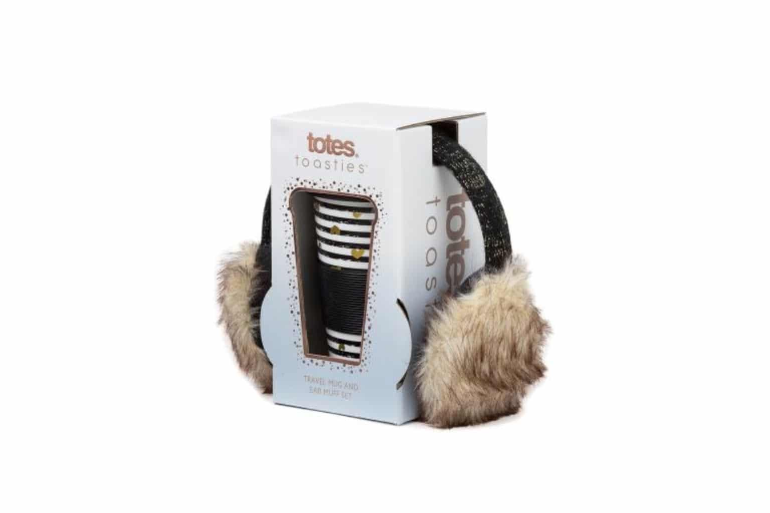 totes Ceramic Travel Mug & Earmuff Gift Set