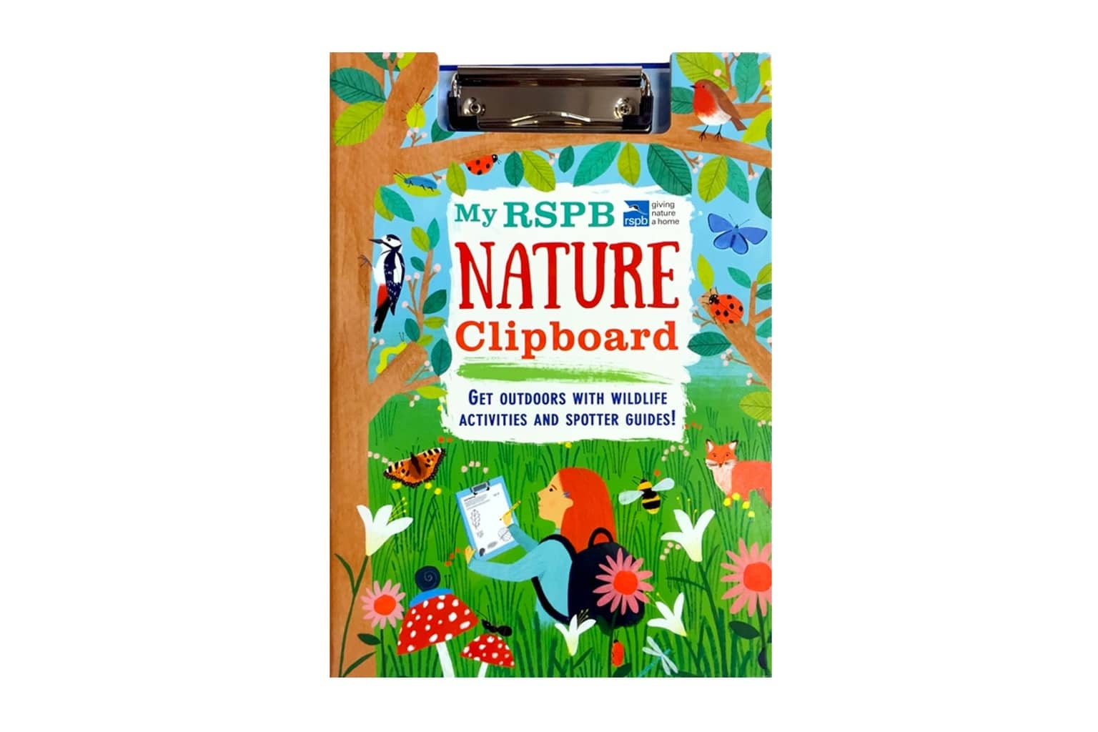 My RSPB Nature Clipboard
