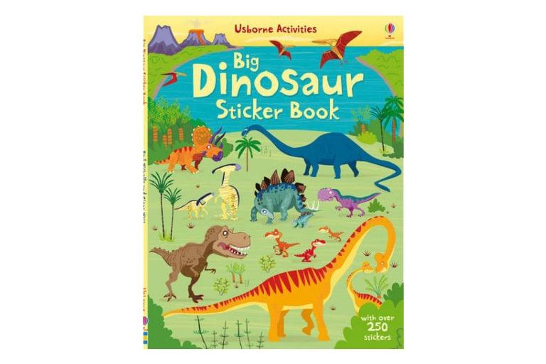 Usborne Big Dinosaur Sticker Book