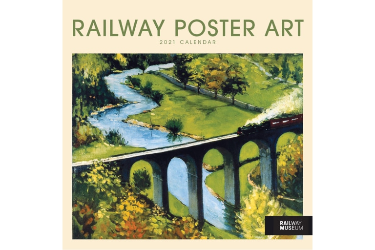 Railway Posters 2021 Calendar