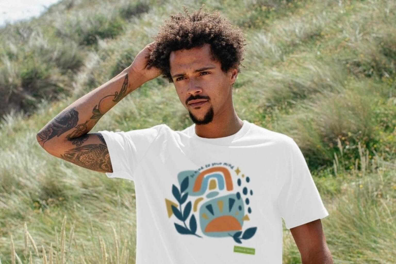 Be Kind To Your Mind Eco T-shirt